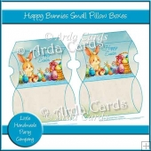 Happy Bunnies Small Pillow Boxes