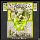 Vintage Card Topper Kit Green 1372