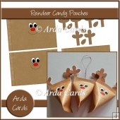 Reindeer Candy Pouches