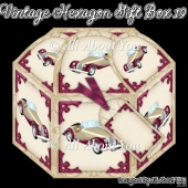 Vintage Car Hexagon Gift Box 19