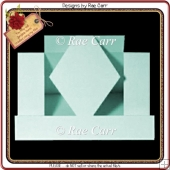 257 Step Card with Diamond Shape *Multiple MACHINE Formats*