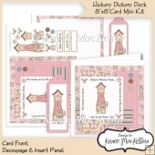 Hickory Dickory Dock Nursery Rhyme 8x8 Mini Kit Quick Card