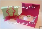 Gift Box with Outer Wrap Ideal For Soaps