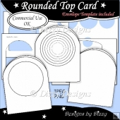 Rounded Top Card Template