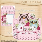 Shelf Card Owl