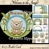Rocker Card Lion with Envelope