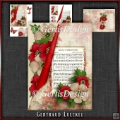 Vintage Christmas Card Kit Musicnotes 1032