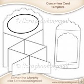 Concertina Card & Envelope Template CU OK