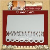 Congratulations Card MACHINE Cut Files