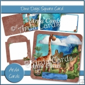 Dino Days Square Card
