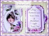 Sunshine & Flowers Friendship Side Opening Pocket Card Set