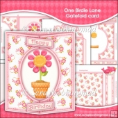 One Birdie Lane Gatefold Card & Bookmark