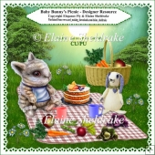 Baby Bunny's Picnic Tea - Designers Resource Kit