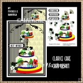 Clarice Cake Decoupage Card Design