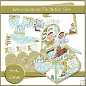 Eskimo Escapades Pop Up Box Card