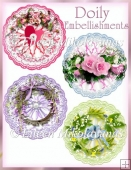 Doily Embellishments for Cards and Crafts