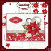 Poinsettia Landscape card