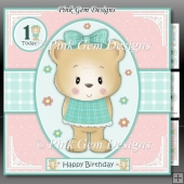 Birthday Bear Mini Kit With Ages 1 to 6 Yrs