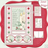 SPIRIT OF CHRISTMAS A5 Decoupage & Insert Mini Kit
