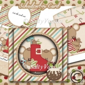 Schadowbox Card Christmas Mouse