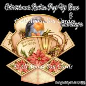 Christmas Robin Pop Up Box