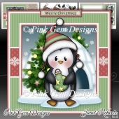 Penguin with Christmas Bauble Mini Kit