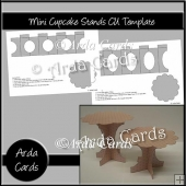 Mini Cupcake Stands CU Template