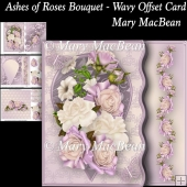 Ashes of Roses - Wavy Offset Card