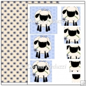 Cute Sheep Jpeg Pyramage Sheet