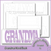 Grandma Word book Template Personal Use