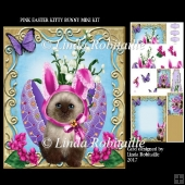 Pink Easter Kitty Bunny Mini Kit