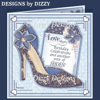 Love Shoes Card