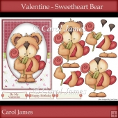 Valentine - Sweetheart Bear