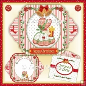 Little Miss Christmas - Shadow Card
