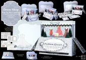 Dress Shop Pop-Up Box Card Kit & Matching Envelope