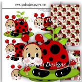 PNC Lady Bug Craft Robo Decoupage Set