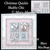 Christmas Quickie - Shabby Chic