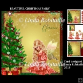 Beautiful Christmas Fairy Mini Kit