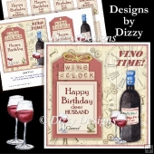 Wine o'Clock Card Front