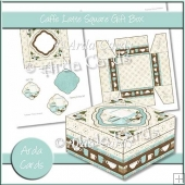 Caffe Latte Square Gift Box