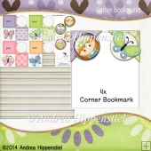 4 Corner Bookmark Fairytale 1