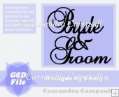 Bride and Groom Title