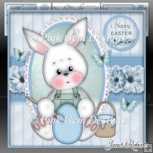 Blue Easter Bunny Mini Kit