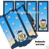 Snowman BookMarks with Cover