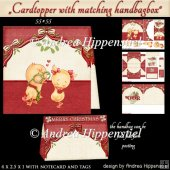 Cardtopper Handbagbox Notecards Tags Christmas Couple