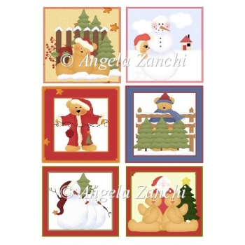 A Set Of Christmas Toppers