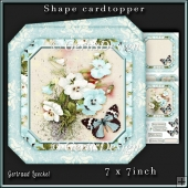 Shape Card Topper 340 Blue