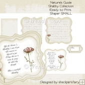 Nature's Guide -Shabby Collection SHAPER CARD(Retiring in August