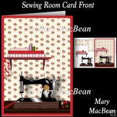 Sewing Room Card Front