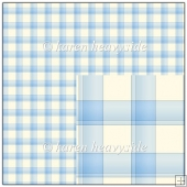 Blue Plaid 2 Backing Paper